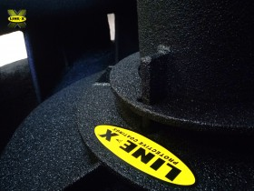Recubrimiento industrial de protección para UBE Chemical