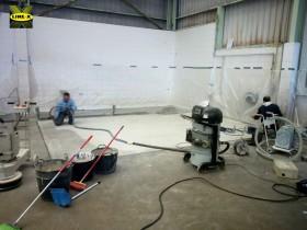 Recubrimiento suelo industrial