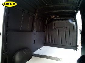 Renault Master protección con LINE X