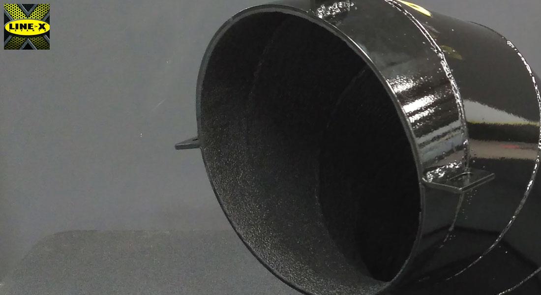 tratamiento anti óxido tubería industrial